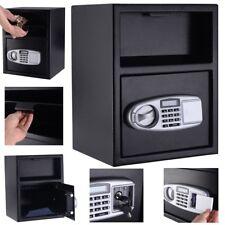Digital Deposit Security Safe Box Depository Front Load Gun Cash Home