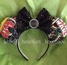 Star Wars Minnie Mickey Mouse Ears Headband Disneyland World