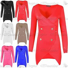 Unbranded Polyester Long Sleeve Wrap Dresses
