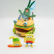 Spongebob Squarepants KRABBY PATTY WAGON Crabby Hamburger Car 2013 Imaginext