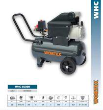 COMPRESSORE WORTEX 25 LITRI 2Hp PORTATILE 230V MONOFASE 200 lt/min WHC25/200