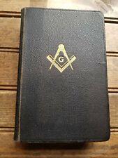 "Masonic Bible, 1924 Edition 7"" Black"