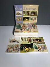 Elsa Beskow Puzzle Cubes Illustration Blocks