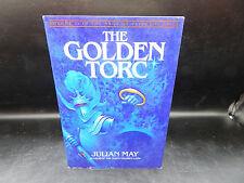 Julian May THE GOLDEN TORC Pliocene Exile Saga vintage scifi HC book 1982 SIGNED