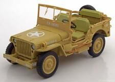 1:18 Triple 9 Jeep Willy´s Casablanca 1943 Desert sand