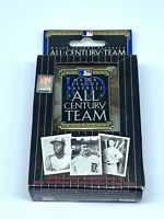 Major League Baseball All-century Team Playing Cards And Commemorative Tin Box