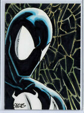 Spider-Man Symbiote Hand Drawn ACEO Sketch By Mark Spears ORIGINAL ART