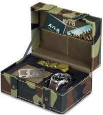 Orologio Uomo AVI-8 FLYBOY Box Regalo + Survival Kit + Cinturino + Cacciavite