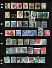BRAZIL: NICE  'VINTAGE'  STAMP COLLECTION DISPLAYED ON 3 SHEETS . SEE SCANS