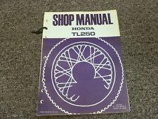 1975-1976 Honda TL250 Motorcycle Factory Shop Service Repair Manual