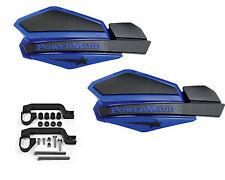 Powermadd Star Series Handguards Guards Mount Kit Blue / Black Polaris ATV