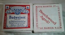 225+ Vintage BUDWEISER collectible BEER Napkins ALCOHOL Party ADVERTISING