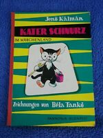 Jenö Kalman Kater Schnurz im Märchenland Original 1966 Bela Tanko DDR Kinderbuch