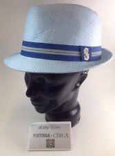 2015 SEATTLE MARINERS Light Baby Blue Hat Cap FEDORA SGA 5/15/15 SGA ADULT *NEW*