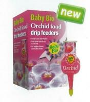 Pack x4 Baby Bio RTU 40ml Liquid Drip Feeders Orchid Plant Food