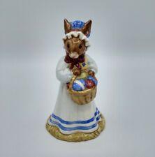 Vtg Royal Doulton Mrs. Bunnykins Easter Parade England Hand Painted Figurine