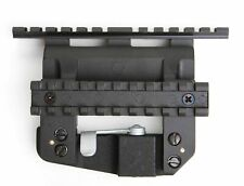 Russian Side Rail to Weaver Mount High Profile, Centered, w Tactical Rail BelOMO