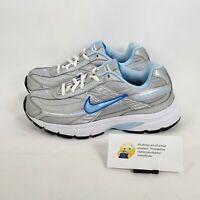 Nike Initiator Athletic Running Shoe Womens Size 6.5 394053-001 Gray Blue