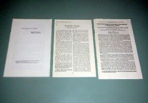 3 Offprint LSD MESCALINE Peyote PSYCHEDELIC PSYCHOTHERAPY 1967 Dr Charles Savage