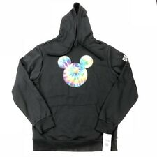 NEFF Disney Collection Mickey Mouse Black Hoodie Sweatshirt Size Large