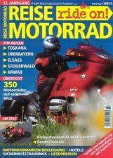 RM0202 + Test + Historie HARLEY-D. XL Sportster 883 R + REISE MOTORRAD 2 2002