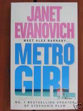 JANET EVANOVICH - METRO GIRL *NEW*