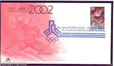 #2807-2811 Set of 5 1994/2002 OLYMPIC FDCs with SALT LAKE CITY BID LOGO CANCEL