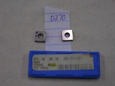 10 NEW SECO 335.19-1103T CARBIDE INSERTS. GRADE: HX {D270}