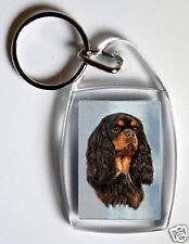 Cavalier King Charles Spaniel Key Ring-Starprint No 1 - Auto combined postage
