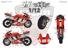 "[FFSMC Productions] Decals 1/12 Ducati GP7 2007 ""Jerez GP"""