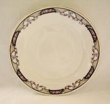 "Antique WHITE BLOCK China Salad Plate 8""~Czechoslovakia"