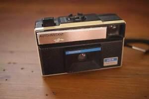 Vintage 60s 70s Keystone 115x Auto Instant Point & Shoot 126 Plastic Film Camera