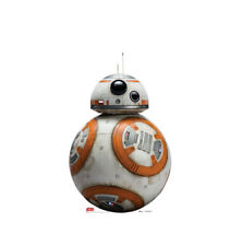 BB-8 STAR WARS THE LAST JEDI LIFE SIZE STAND UP FIGURE SPACE DISNEY DECOR TECH!!