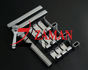 Laminectomy Retractor Complete Set 13 PCs Set Spine Surgical Instruments By ZP