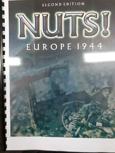 """""""Nuts"""" Europe 1944 WW2 Skirmish Wargame Rules (2nd Edition) NEW"""