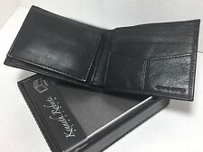 BRAND NEW ROLFS MEN BLACK BI-FOLD FLIP-FOLD WALLET SUPERIOR SOFT LEATHER