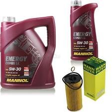 Aceite de Motor 5L Mannol 5W-30 Combi Ll + Mann-Filter Paquete Filtro Mini R56