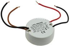 LED Trafo rund Transformator 0,5-12W Treiber 230V~ auf 12V max. 1Ampere