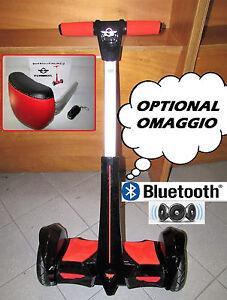 FLY BALANCE MONOPATTINO ELETTRICO 2 RUOTE NERO 700W BLUETOOTH MANUBRIO