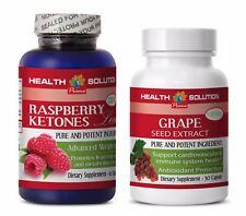 Fat burner for weight loss fast - RASPBERRY KETONES – GRAPE SEED EXTRACT COMBO