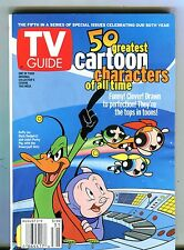 TV Guide Magazine August 3-9 2002 Cartoon Characters EX No ML 091616jhe