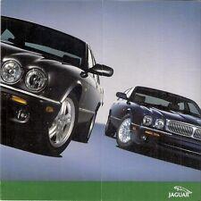 Jaguar XJ8 SE & Sport X308 2002 UK Market Mailer Foldout Sales Brochure
