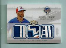 DUSTIN PEDROIA 2014 TRIPLE THREADS 7 COLOR ALL-STAR GAME PATCH /9