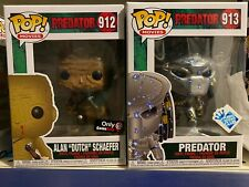 FUNKO POP Movies 913 PREDATOR And 912 Dutch Mud Gamestop Exclusive Bundle