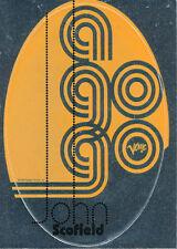 John Scofield A Go Go RARE promo sticker '98