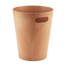 Umbra Woodrow Papierkorb weiss weiß ø 23 cm h 28 cm