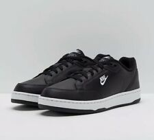 Nike Grandstand II Black Leather Trainers Running Shoes Sneakers New Size 6