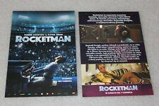 Rocketman (2019) Polish promo FLYER - ULOTKA