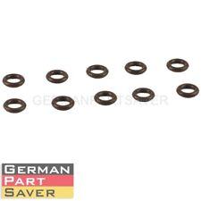 New BMW E90 E60 E65 E70 Engine N52 Fuel Injector O-Ring Gasket 10pcs 13647531313