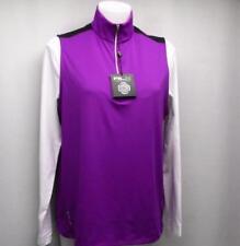 New Womens MEDIUM Ralph Lauren RLX lightweight zip golf vest Orchid